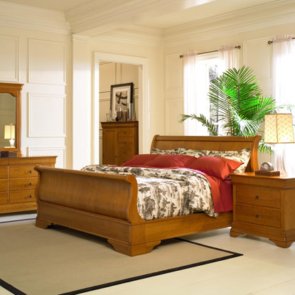Louis Philippe - Bedroom - By Collections - Collection