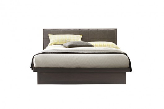 Serra Upholstered Panel Bed With Drawer Unit