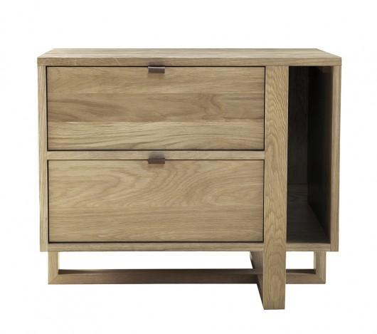 Fulton Magazine Nightstand Left
